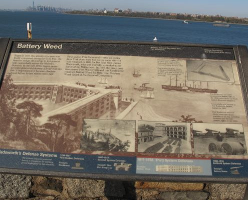 Battery Weed Fort Wadsworth Staten Island