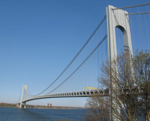Verrazano - Narrows Bridge taken from Fort Wadsworth