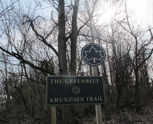 Amundsen trail in Oakwood