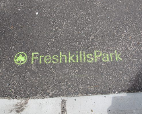 129 Mulberry Fresh KIlls Park Sidewalk sign