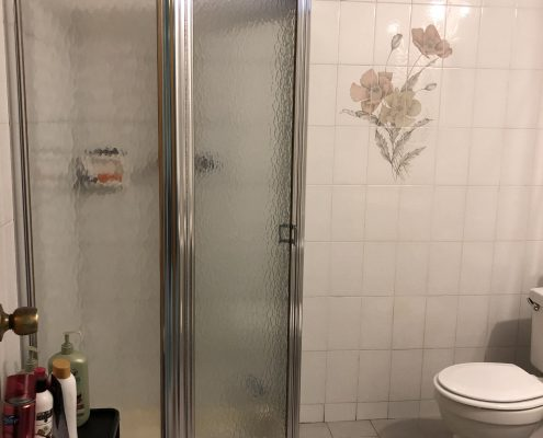 566 Travis basement shower