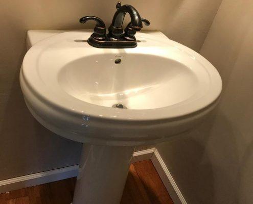 sink first fl half bath 67 Ladd