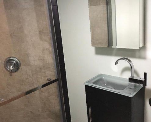 Basement bathroom 67 Ladd