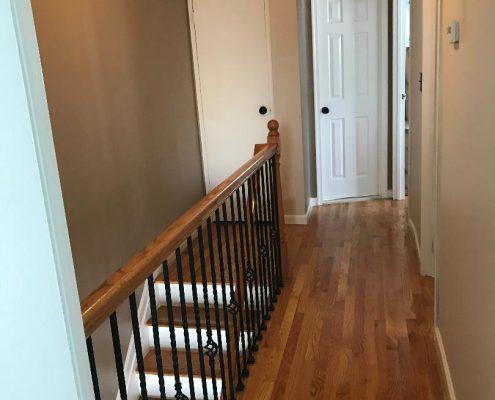upstairs hall 67 Ladd