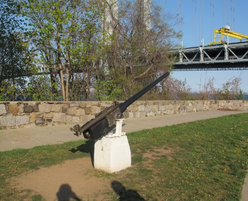 Cannon at Fort Wadsworth Staten Island