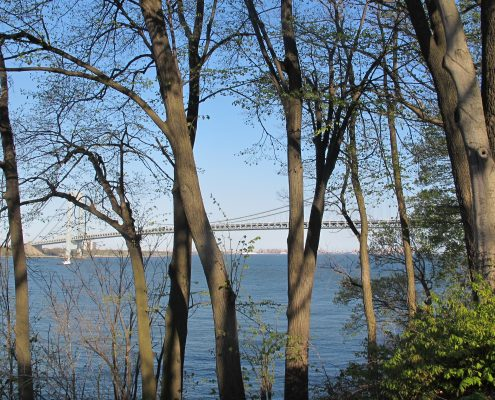 Photo of the vZ bridge taken from Von Briesen Park