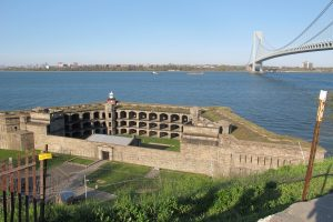 The Fort at Fort Wadsworth