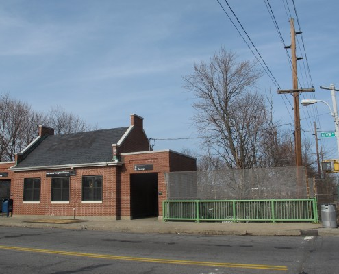 The Oakwood Train Station