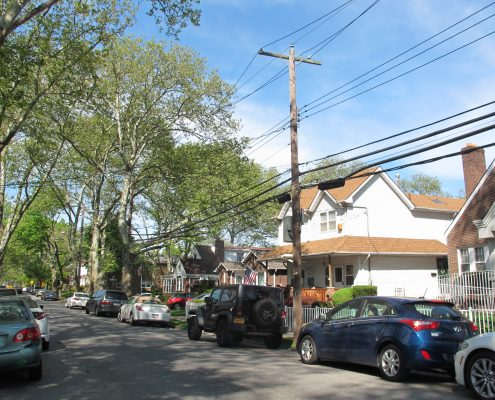 New Dorp Homes on Street
