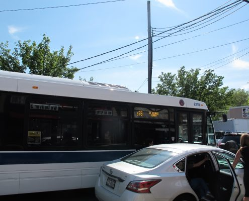 New Dorp Lane S76 Bus to Ferry