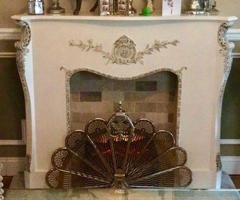 9 Hamlin Pl decor fireplace