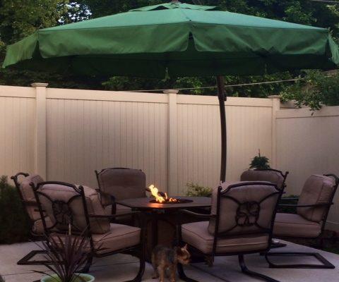 9 Hamlin back yard patio