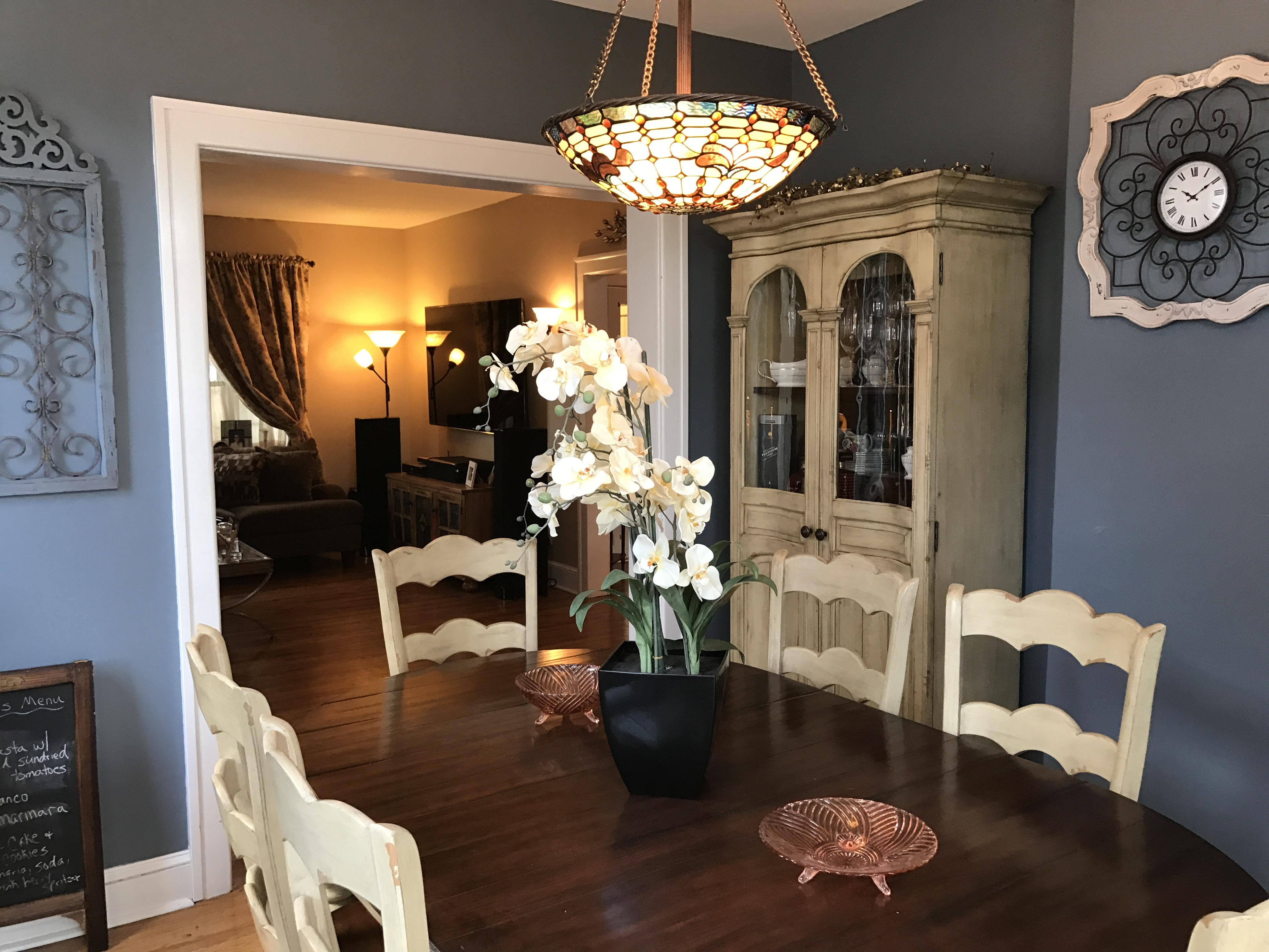 179 barclay nice dining room living room - A.T. REAL Estate ...