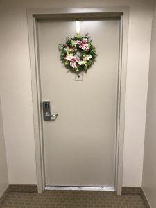 10 Bay St 4i apartment door