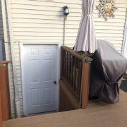 145 Darnell rear door