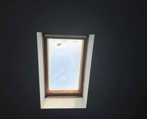 490 Lisk skylight in loft