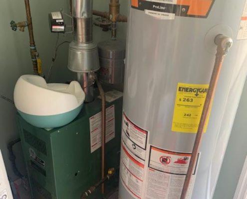 114 Baden gas hot water heat