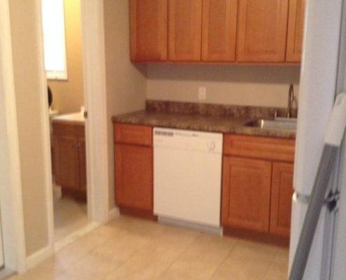 114 Baden kitchen doors closed
