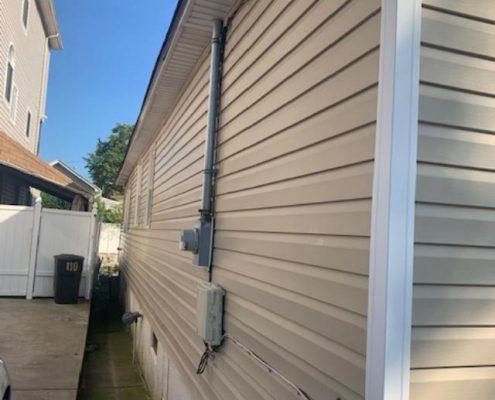 114 Baden side of house