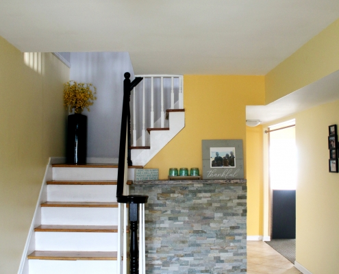 entrance foyer stairs 52 Graham Ave