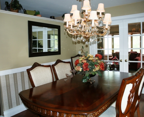 66 Wieland Ave formal dining room close up